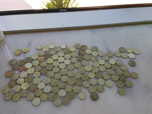 Paralar ile Türkiye haritası yaptık