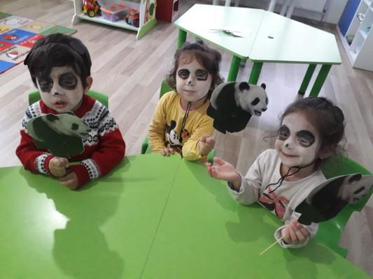 panda maskesi